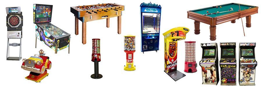 Máquinas de Jogos à Comissão