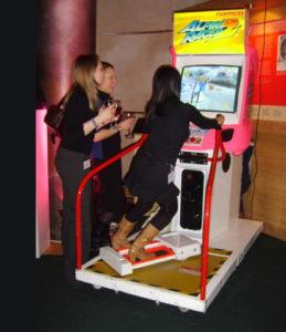simulador de ski