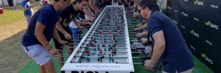 Aluguer de Máquinas de Jogos
