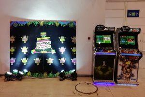 Arcades in Revenge 90'